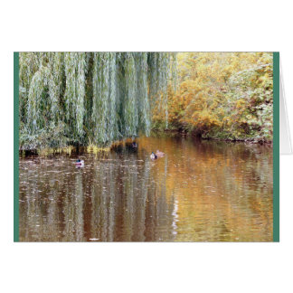 Weeping Willow Reflection Card
