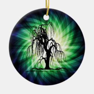 Weeping Willow Tree Christmas Ornament