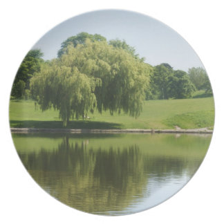 Weeping willow tree plates