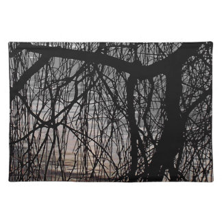 WEEPING WILLOW TREES PLACEMATS