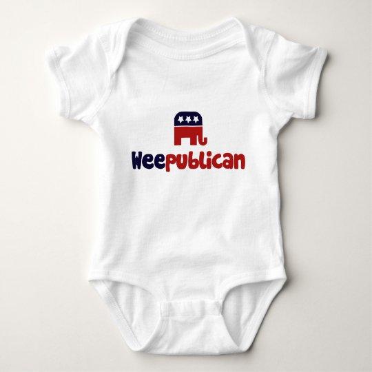 Weepublican Baby Bodysuit