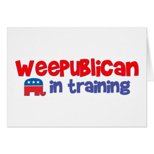 WeePublican in Training Card