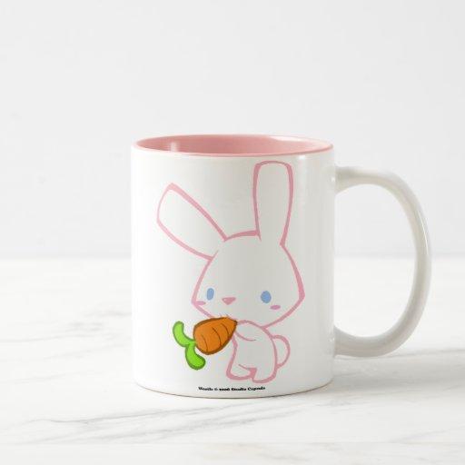 Weetle Bunny Two-Tone Coffee Mug