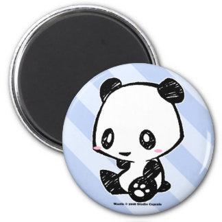 Weetle Panda 6 Cm Round Magnet