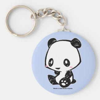 Weetle Panda Key Ring