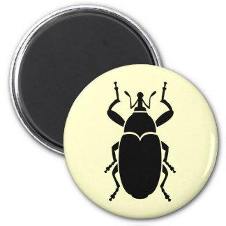 Weevil 6 Cm Round Magnet
