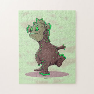 WEEWITT ALIEN MONSTER CARTOON PUZZLE 11 X 14