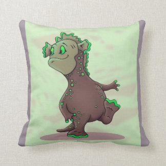 WEEWITT ALIEN THROW PILLOW