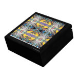 """""""WeHolly"""" Psychedelic Abstract Art Stash Box Large Square Gift Box"""