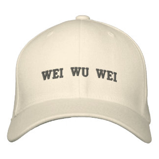 Wei Wu Wei Embroidered Hat