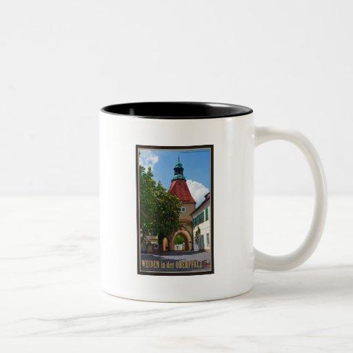 Weiden - Unterer Markt Tor Coffee Mugs