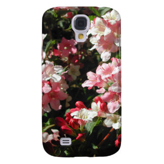 Weigela. Pretty Pink Flowers. Galaxy S4 Case
