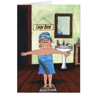 weigh loss tcard card