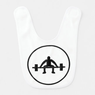 Weight Lift Sign Bib