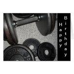 Weight Lifting Birthday Design