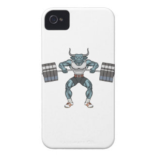 weight lifting bull iPhone 4 case