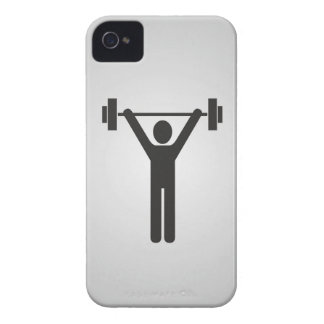 Weight Lifting iPhone 4 Covers