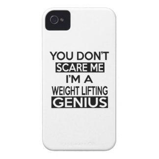 WEIGHT LIFTING GENIUS DESIGNS iPhone 4 Case-Mate CASES