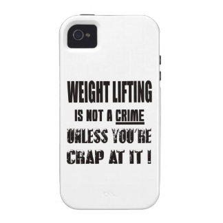 Weight Lifting is not a crime iPhone 4/4S Case