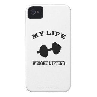 Weight Lifting My Life iPhone 4 Case