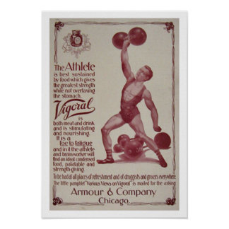 Weight Lifting Poster