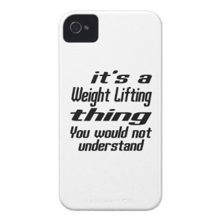 Weight Lifting Thing Designs iPhone 4 Cover