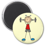 Weight Lifting Tshirts and Gifts Magnet