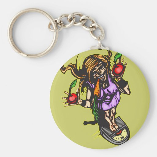 Weight Loss and Diet Keychain