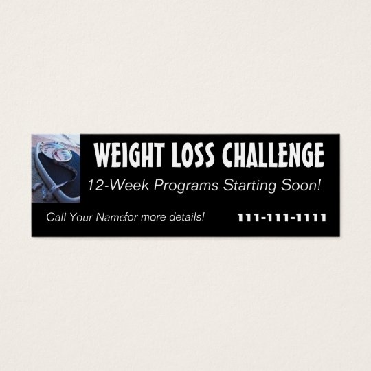 Weight Loss Challenge Profile Card