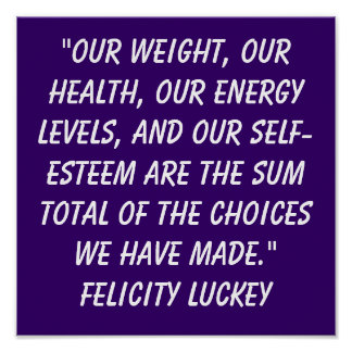 Weight Loss Choices 2 Poster