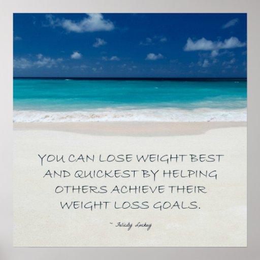 Weight Loss Motivation: Beach Ready 15 Poster