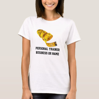 Weight Loss, Yellow Tape Measure T-Shirt