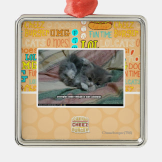 Weight of own cuteness christmas ornament