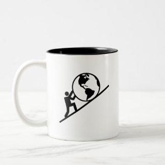 Weight of the World Pictogram Mug