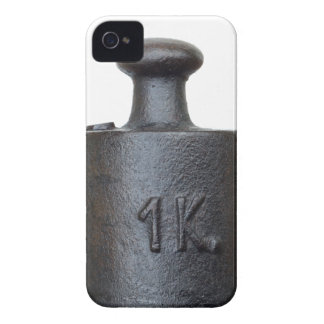 weight - one kilogram Case-Mate iPhone 4 case