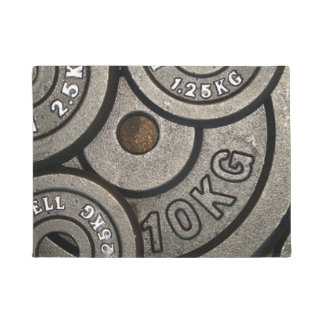 Weight Plates Doormat