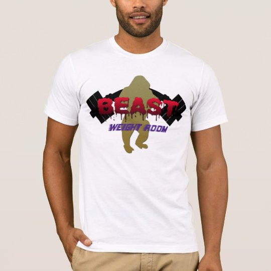 Weight Room Beast Weightlifting Shirt