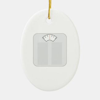Weight Scale Christmas Ornament
