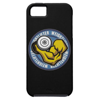 Weightlifter Barbell Curl iPhone 5 Covers