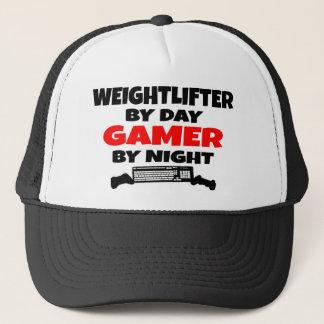 Weightlifter Gamer Trucker Hat