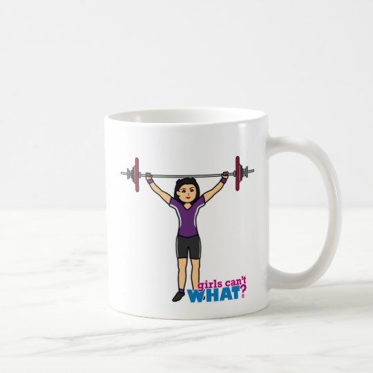 Weightlifter Girl - Medium Coffee Mug