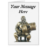Weightlifter Greeting Card