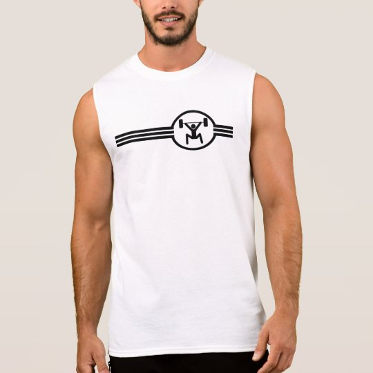 Weightlifter Icon Sleeveless Shirt