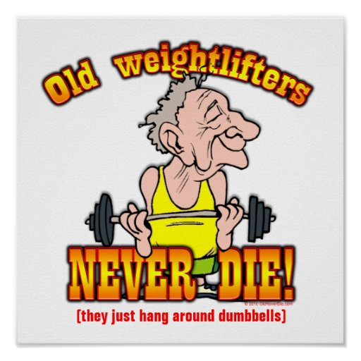 Weightlifters Poster