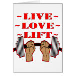 Weightlifting Live Love Lift Cards