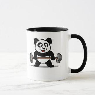 Weightlifting Panda Mug
