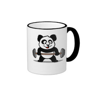 Weightlifting Panda Coffee Mug