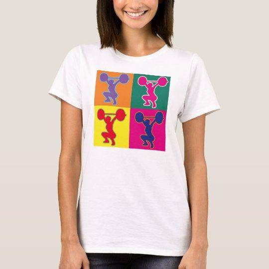 Weightlifting pop art T-Shirt