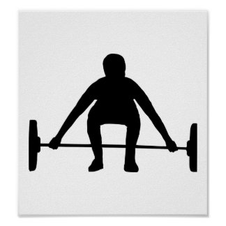 Weightlifting Poster