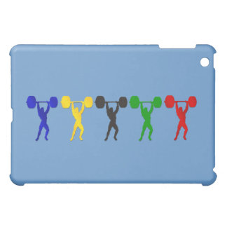 Weightlifting Snatch Clean and Jerk sports iPad Mini Case